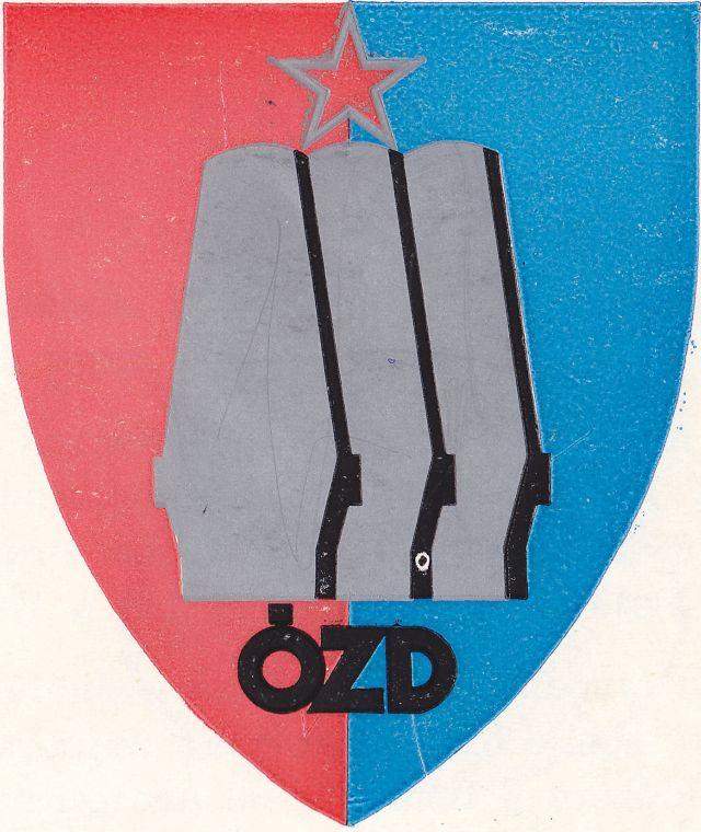 Ózd város címere 1972-től
